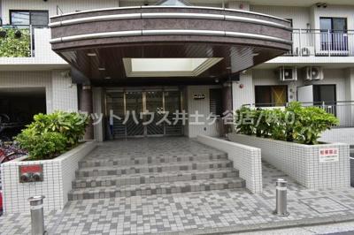 【エントランス】コスモ横浜吉野町