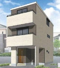 新築戸建 JR京浜東北線「川崎」駅バス16分 2階リビング18.9帖 全居室収納 4LDK