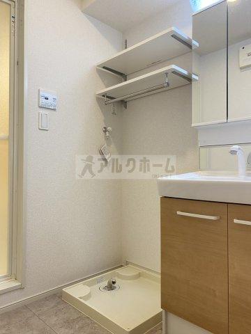 コンフォートしき(八尾市志紀町・JR志紀駅) 脱衣所