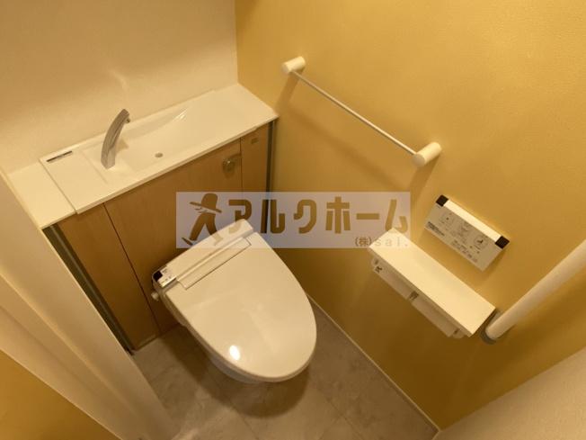 コンフォートしき(八尾市志紀町・JR志紀駅) トイレ