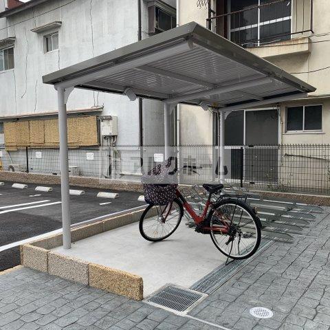 コンフォートしき(八尾市志紀町・JR志紀駅) 自転車置き場