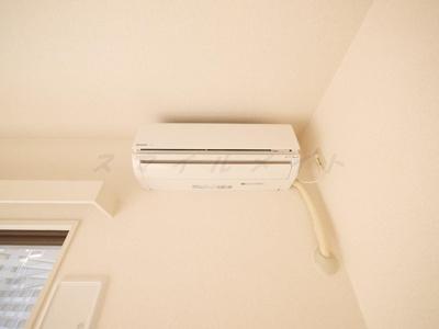 快適な生活を演出するエアコン完備です
