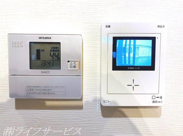 給湯器操作パネル/TVモニター付インターホン