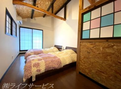 2階寝室/和モダンスタイルのお部屋です