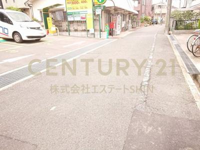 【前面道路含む現地写真】茨木市竹橋町 新築戸建