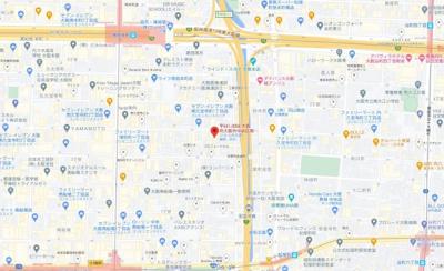 【地図】セレニテ堺筋本町プリエ