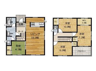 南友田建売オール電化住宅