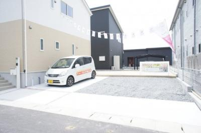 駐車場は3台可能です!(^^)!