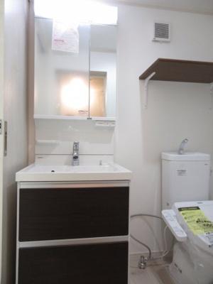 【独立洗面台】ハーミットクラブハウス日吉テラス