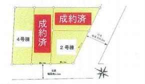 【区画図】新築一戸建 川崎市中原区下小田中5丁目 2号棟