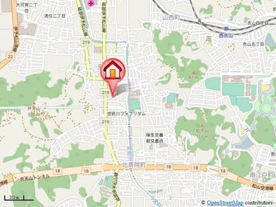 【地図】グリーングラス・
