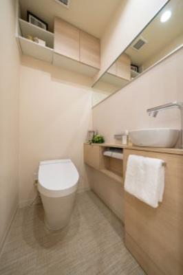 【トイレ】サンウッド赤坂氷川