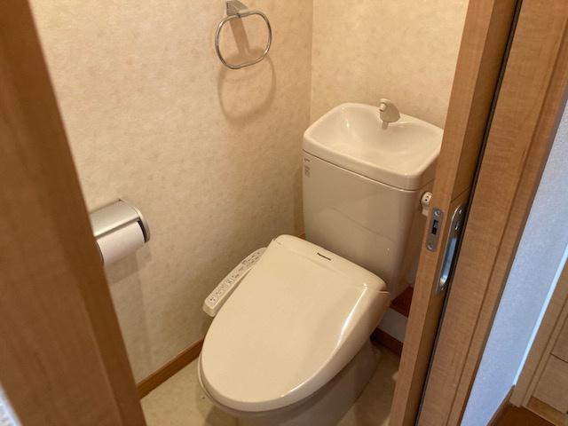 【トイレ】高田戸建住宅