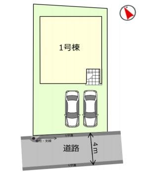 【区画図】高田戸建住宅