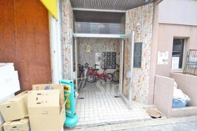【エントランス】新大阪ハイム