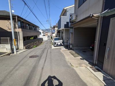 【前面道路含む現地写真】京都市北区紫野泉堂町
