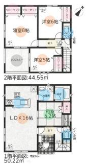(3)、価格3690万円、4LDK、土地面積142.24m2、建物面積94.77m2