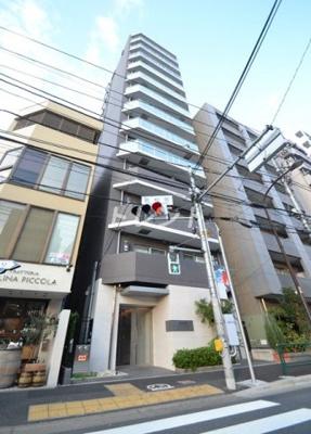 【外観】ハーモニーレジデンス早稲田夏目坂