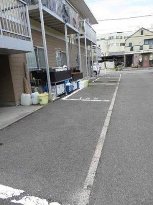 【駐車場】ハイツルーラルⅠ