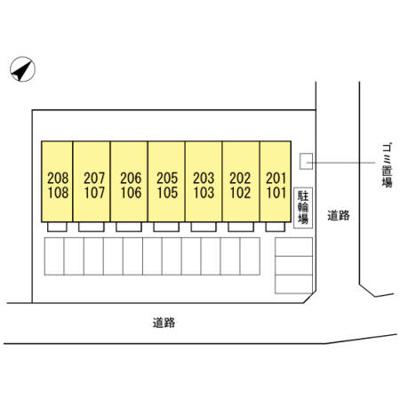 【区画図】ヴィルセイン武久