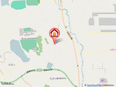 【地図】クレメントヒル久万ノ台
