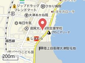 【地図】ヤマキハイツ