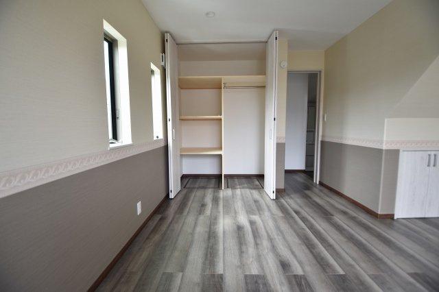 各お部屋にはしっかりと収納スペースを確保!