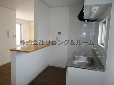 【キッチン】グランピアコーポ・F棟