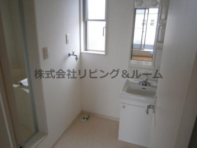 【洗面所】グランピアコーポ・F棟