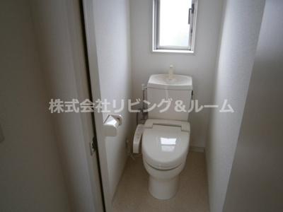 【トイレ】グランピアコーポ・F棟