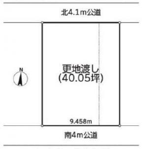 ■東武スカイツリーライン「越谷」駅 徒歩14分 <越谷市瓦曽根 売地>