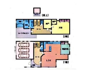 ■2SLDK 建物面積:240.94㎡ 土地面積:277.70㎡ <越谷市東越谷7丁目 中古戸建>