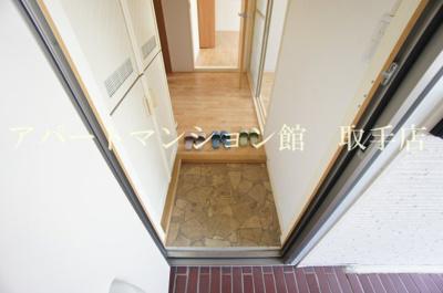 【玄関】ハイツウィステリアB