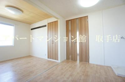 【居間・リビング】ハイツウィステリアB