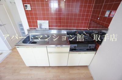 【キッチン】ハイツウィステリアB