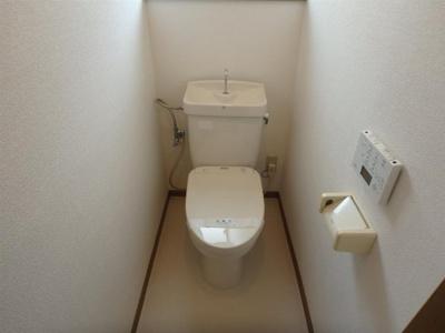 【トイレ】サンハイツフジ(メゾネット)