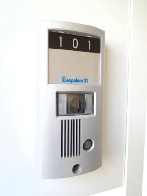 モニター付きインターホン設置