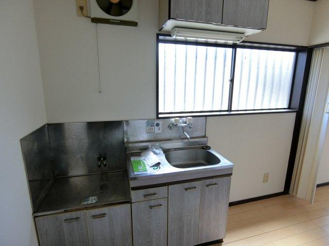 【キッチン】武蔵台アパート