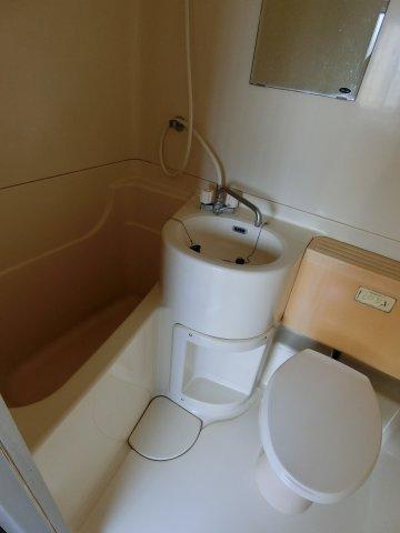 【浴室】武蔵台アパート
