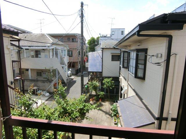 【展望】武蔵台アパート