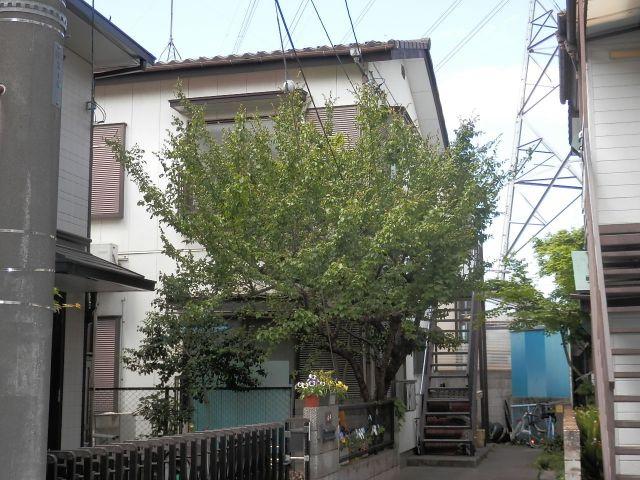 【外観】武蔵台アパート