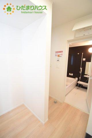 【洗面所】北区日進町 第17 新築一戸建て クレイドルガーデン 01