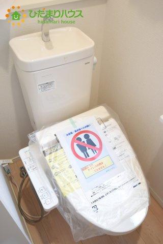 【トイレ】北区日進町 第17 新築一戸建て クレイドルガーデン 01