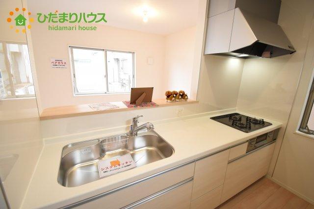 【キッチン】北区日進町 第17 新築一戸建て クレイドルガーデン 01