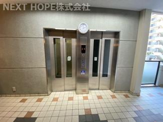 エレベーターは2基ございます(^^)
