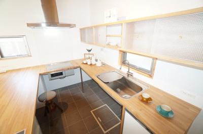 【キッチン】井口4丁目新築戸建て
