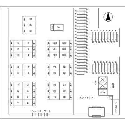 【区画図】レジディア東桜Ⅱ