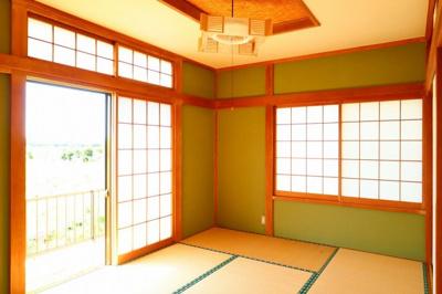 和室も明るいです!