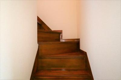 廊下や階段も綺麗です!