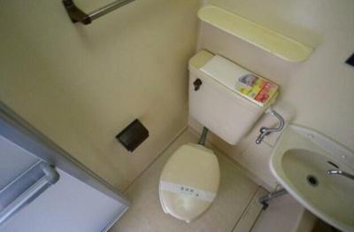 【トイレ】ハニイ枡形